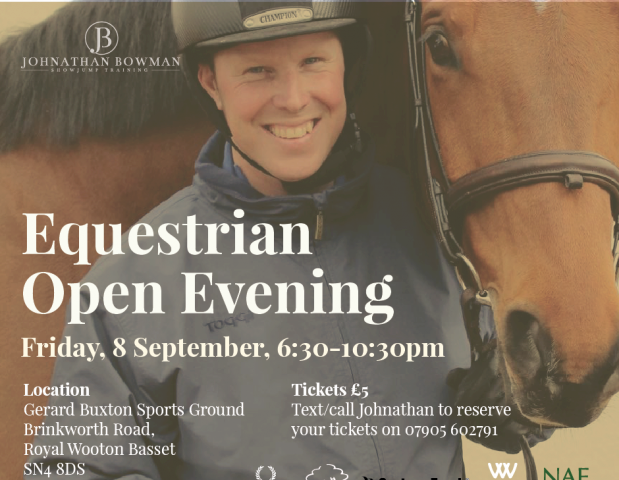 Join Johnathan for an Equestrian Evening